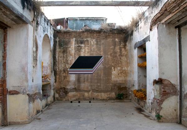 Acrílico sobre el muro, 150cm