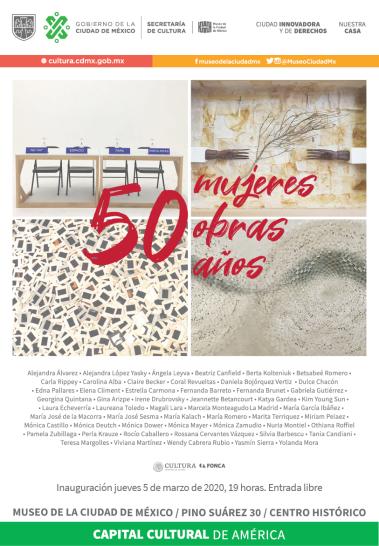 50 cartel 1 de marzo